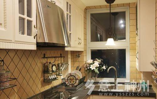 廚房裝修設計,混搭風格居家,歐式風格居家,美式田園風格,裝修效果
