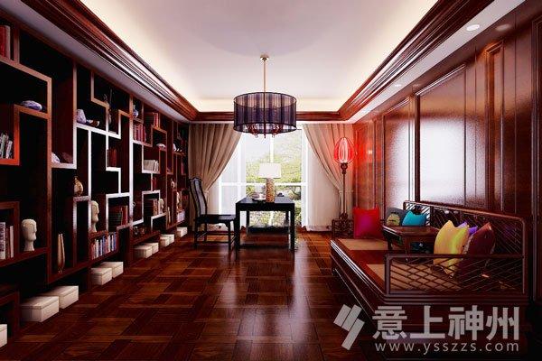 红木古典家具书房的三种风格